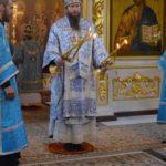 В день памяти иконы Божией Матери Владимирская епископ Савватий совершил божественную литургию в Воскресенском кафедральном соборе г. Шуя
