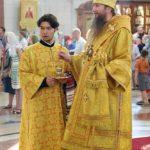 В канун Недели 5-й по Пятидесятнице епископ Ванинский и Переяславский Савватий совершил всенощное бдение в Спасо-Преображенском соборе Хабаровска