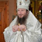Накануне праздника Вознесения Господня епископ Савватий совершил всенощное бдение в кафедральном храме святителя Николая