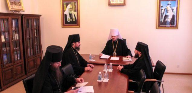 Итоговое заседание Архиерейского совета Приамурской митрополии состоялось в Хабаровской семинарии