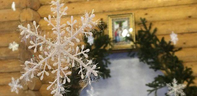 В праздник Рождества Христова глава Ванинской епархии совершил Божественную литургию в храме святого Феодора Ушакова г. Советская Гавань