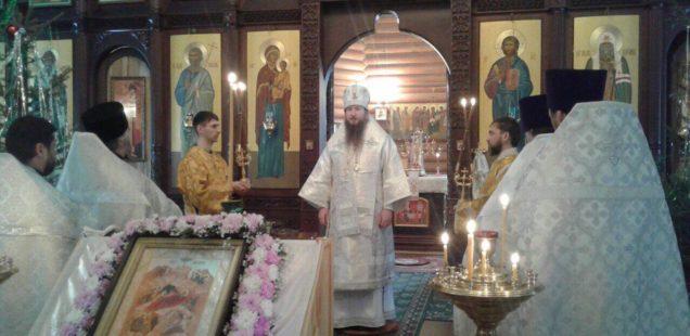 Епископ Савватий совершил архипастырский визит в Центральное благочиние