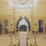 В Рождественский сочельник епископ Савватий совершил Божественную литургию и Великую вечерню