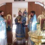 В праздник Сретения Господня епископ Ванинский Савватий совершил архипастырский визит в поселок Высокогорный