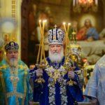 В первопрестольном граде состоялось Патриаршее богослужение и прошел Первый Большой круг российского казачества, в котором принял участие клирик Ванинской епархии