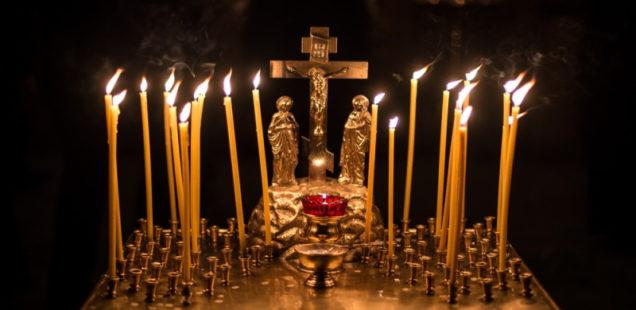 В Ванинской епархии молятся об упокоении погибших при пожаре в ТЦ «Зимняя вишня» в г. Кемерове
