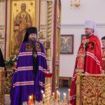 Епископ Ванинский Савватий поздравил главу Приамурской митрополии с праздником Светлой Пасхи
