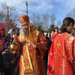 В Неделю 2-ю по Пасхе епископ Савватий совершил божественную литургию в храме Святой Троицы с. Троицкое