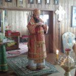 В Неделю святых жен-мироносиц епископ Савватий возглавил Божественную литургию в храме Святой Троицы с. Булава Ульчского района