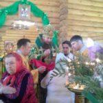 В праздник Святой Троицы епископ Ванинский Савватий совершил Божественную литургию в храме Святой Троицы