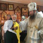 В канун дня памяти святителя Николая чудотворца, епископ Савватий совершил всенощное бдение в храме святителя Николая п. Ванино