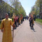 В День Святой Троицы  крестный ход объединил приходы Восточного благочиния