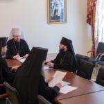 Заседание Архиерейского совета Приамурской митрополии состоялось в Хабаровской семинарии