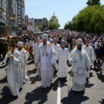 Епископ Ванинский Савватий принял участие в общегородском крестном ходе в г. Хабаровске