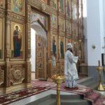 В день памяти святителя Николая чудотворца епископ Савватий совершил Божественную литургию