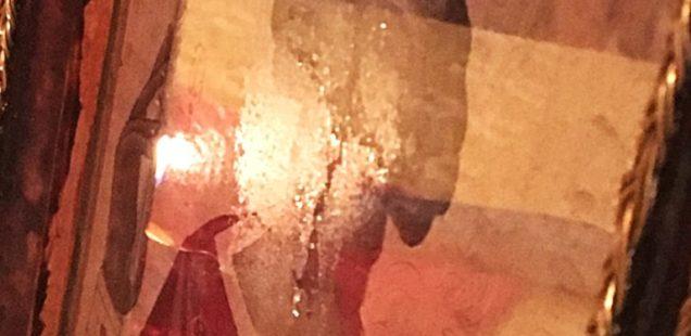 В день 1030-летия Крещения Руси в храме святых апостолов Петра и Павла г. Советская Гавань замироточила икона святого равноапостольного князя Владимира