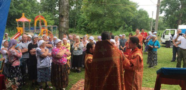 Первая за 100 лет Божественная литургия была совершена в с. Венюково