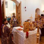 Управляющий Ванинский епархией совершил всенощное бдение с чином Воздвижения Креста Господня