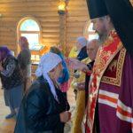 В день памяти страстотерпцев царя Николая, царицы Александры и их детей епископ Ванинский Аристарх совершил молебен