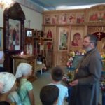 Школьники села Лермонтовка познакомились с храмом Казанской Божией Матери в городе Бикине