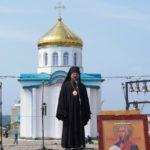Епископ Ванинский и Переяславский Аристарх совершил Божественную Литургию в храме св. воина Феодора Ушакова в Престольный Праздник